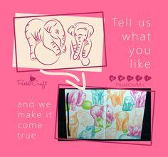 Notebooks/sketchbooks/journals Customized Design por PastelCraftArt