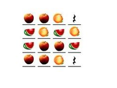 Fruit rhythms!  Would be great to show the fruit pictures and have students speak the names to a steady beat, then replace the pictures with it's corresponding rhythm notation