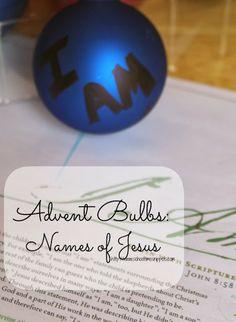 Advent: Names of Jesus