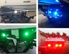 Underwater LED boat lights installed and ready to go. Thanks to our great customers for sending in their pics!