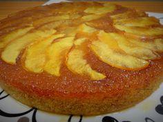 Upside down Apple banana cake