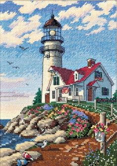 Lighthouse Cross Stitch Patterns