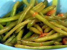 Green Beans with Onion