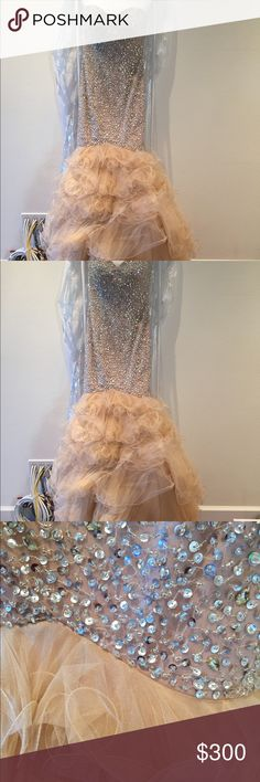 Sherri Hill prom dress Worn twice, freshly re-beaded and dry cleaned. Comes with extra beads. Dresses Prom