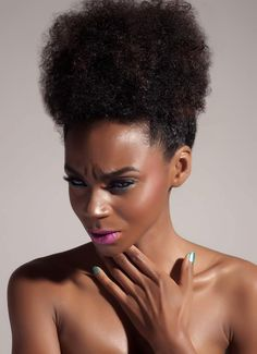 Exquisite #afropuff #naturalhairstyle  Loved By NenoNatural!