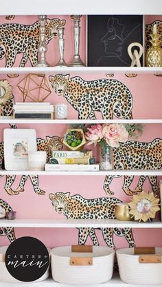 Girls Bedroom, Bedroom Decor, Maximalism, Big Girl Rooms, Leopard Pattern, My New Room, Palm Beach, Room Inspiration, Decorating Your Home