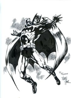 Batman by Bob Hall