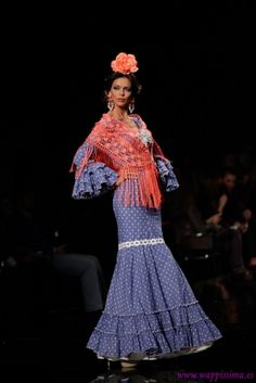 Traje de Flamenca - Aldebaran - SIMOF-2014-