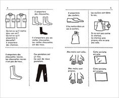 French Book 2 contents samples seen in the picture