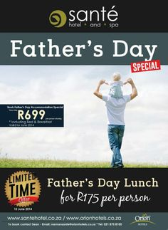 Father's Day Special for June:)
