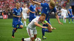 Euro 2016 - Iceland v Hungary latest: Dzsudzsak dangerous