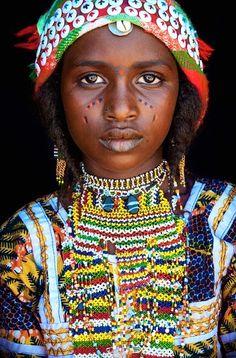 Hausa Fulani girl - Niger.