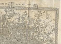Vintage World Maps, Antiques, Antiquities, Antique