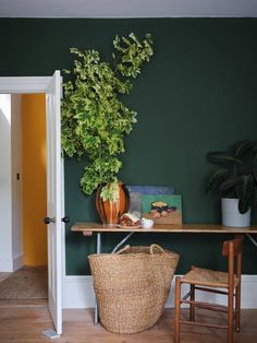 Farrow & Ball tapped design firm Roman and Williams to launch 16 new paint shades, inspired by the Natural History Museum in London. See the new paint colors here. Farrow Ball, Farrow And Ball Paint, Farrow And Ball Living Room, Interior Walls, Interior And Exterior, Exterior Design, Green Interior Design, French Interior, Exterior Paint