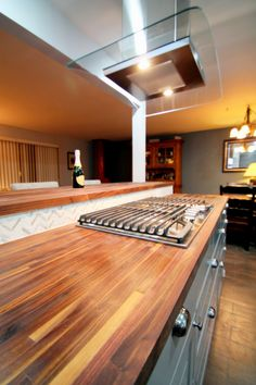 Classy transitional kitchen interior design and remodel by TVL Creative