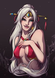 Lian sketch commission by LumiNyu