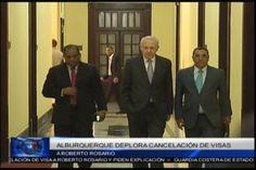 El Ex Vice Presidente Rafael Alburquerque critica la iniciativa de la Embajada de USA en cancelar la visa a Roberto Rosario Presidente de…