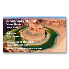 Get customizable business cards or make your own from scratch! ✅ Premium cards printed on a variety of high quality paper types. High Quality Business Cards, Company Names, Card Templates, Grand Canyon, Horse, Business Names, Card Patterns, Horses, Grand Canyon National Park