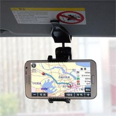 'Universal Sun Visor Car Mount Holder' is going up for auction at  5pm Sun, Jul 14 with a starting bid of $9.