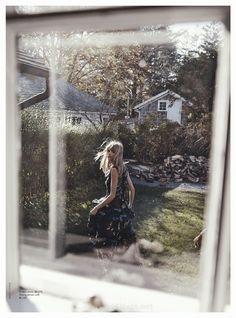 Julia Stegner by Benny Horne for Vogue Australia March 2015-erdem
