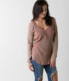 Gilded Intent V-Neck Top