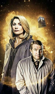 DOCTOR 13 AND BRADLEY WALSH SIDEKICK. <----- I can't tell if I like this!