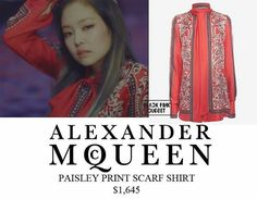 Blackpink play with fire fashion #alexandermcqueen #kimjennie #kpopfashion #blackpink #yg #blackpinkfashion