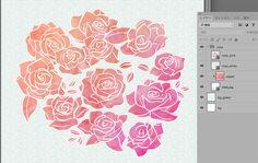HappyFriday!フリー素材を追加しました! ☆Photoshopで編集できるPSD素材の配布も始めました☆  もう、今日から、ダウンロードできます! 現在の素材は、写真でも使われているバラのイラストです。  PhotoshopCC2015/3000x3000px/350dpi/79.45 MB/Royalty Free  #freebie #illust #rose #design #webdesign #paper  #フリー素材 #イラスト #バラ #デザイン #グラフィック