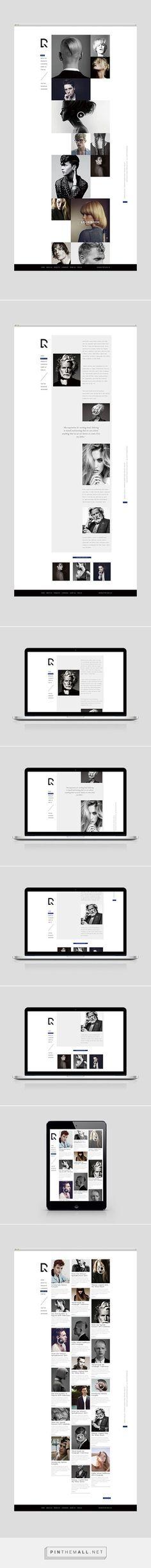 DRYRUN Boutique Luxury Hair Salon Web Design by Shou-Wei Tsai | Fivestar Branding Agency – Design and Branding Agency & Curated Inspiration Gallery