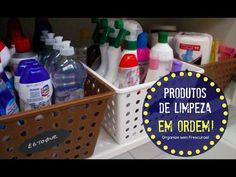 Como organizar os produtos e utensílios de limpeza e aproveitar espaços ...