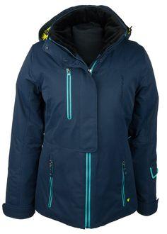 Obermeyer Women's Squall Jacket (Blue Iris) Ski Jackets Women's Jackets
