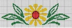 This Pin was discovered by Hül Cross Stitch Borders, Cross Stitch Patterns, Bead Loom Patterns, Beading Patterns, Loom Beading, Crochet Flowers, Tapestry, Knitting, Google