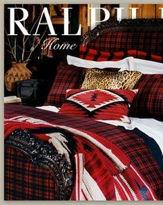 Tartan winter bedding by Ralph Lauren by abigail