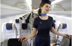 Porter Airlines ~Canada look retro Azul Brazilian Airlines, Porter Airlines, Flight Attendant Humor, Airline Cabin Crew, Airline Uniforms, Aviation Humor, Emirates Airline, Fear Of Flying, Hacks