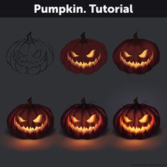 Tutorial by Anastasia-berry on DeviantArt Pumpkin. Tutorial by Anastasia-berry Digital Painting Tutorials, Digital Art Tutorial, Art Tutorials, Digital Paintings, Digital Art Beginner, Relationship Drawings, Concept Art Tutorial, Paint Tool Sai, Coloring Tutorial