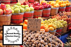 'Round the Rock: Round Rock Market Days ~ First Saturday of each month. Need to keep this in mind