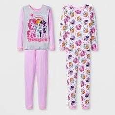 Girls  My Little Pony Pajama Set - Pink 6   Target 330fd5fa2