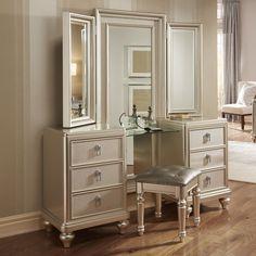 Fanchon Vanity Set with Mirror