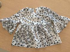 Camicia in viscosa con volant (tg. 4 anni)