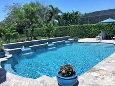 129 Best Pool Raised Bond Beam Images Swimming Pool Designs Pools Pool Landscaping