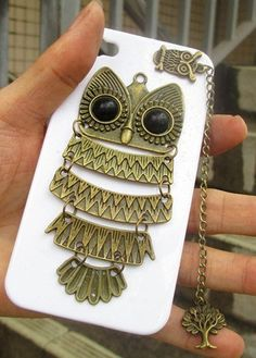 Personalized iphone 4s Owl case
