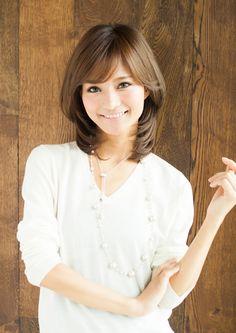 ふんわりボリュームスタイル|AFLOAT JAPANのヘアスタイル