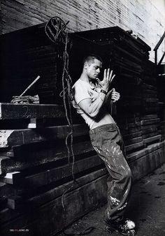 Portrait of Brad Pitt by Mario Testino for GQ, 2005