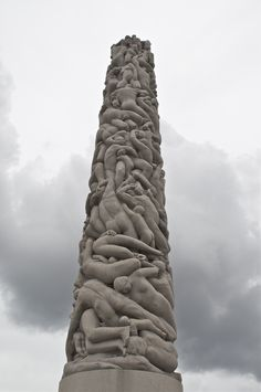 The Monolith, Vigeland Sculpture Park, Oslo Norway