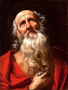 Guido Reni (Bologna 1575 - Saint Jerome Oil on canvas, 25 x 19 ¾ in. x 50 cm. Baroque Painting, Baroque Art, Classic Paintings, Old Paintings, Caravaggio, Rennaissance Art, St Jerome, Italian Painters, Catholic Art