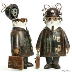 The Incredible Whimsical Steampunk Sculptures of Stephane Halleux