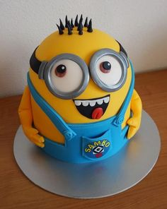Kid Character, Minions, Characters, Cake, Party, Author, The Minions, Figurines, Kuchen