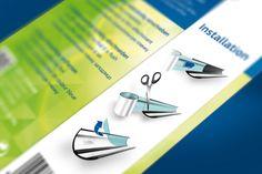 Infografiken Packaging Juwel Aquarium - Design & Concept by Redeleit und Junker Fonts: Myriad Pro, PF Square Sans Pro