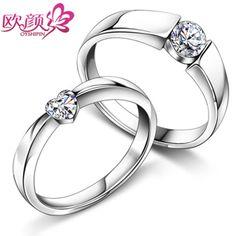 I like the small band with the a circular diamond. :)