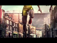 BBC London 2012 Olympic Games advert. Music: First Steps by Elbow .  The concept was devised by creative agency Rainey Kelly Campbell Roalfe Y. The animation was created by Passion Pictures and it was produced by Red Bee Media.